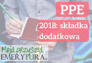 Limit wpłat na PPE 2018