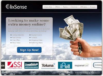 ClixSense - Zarabianie przez internet