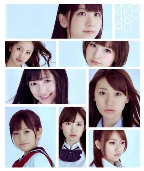 AKB48 MV Song starts at around 210