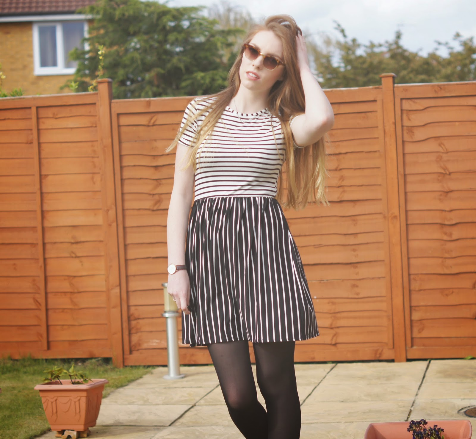 MONOCHROME MISSGUIDED DRESS