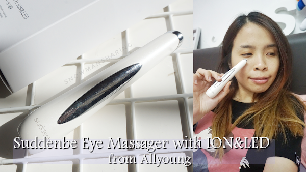 Suddenbe Eye Massager with ION&LED from Allyoung
