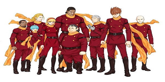sinopsis anime Cyborg 009: Call of Justice 1 (2016)