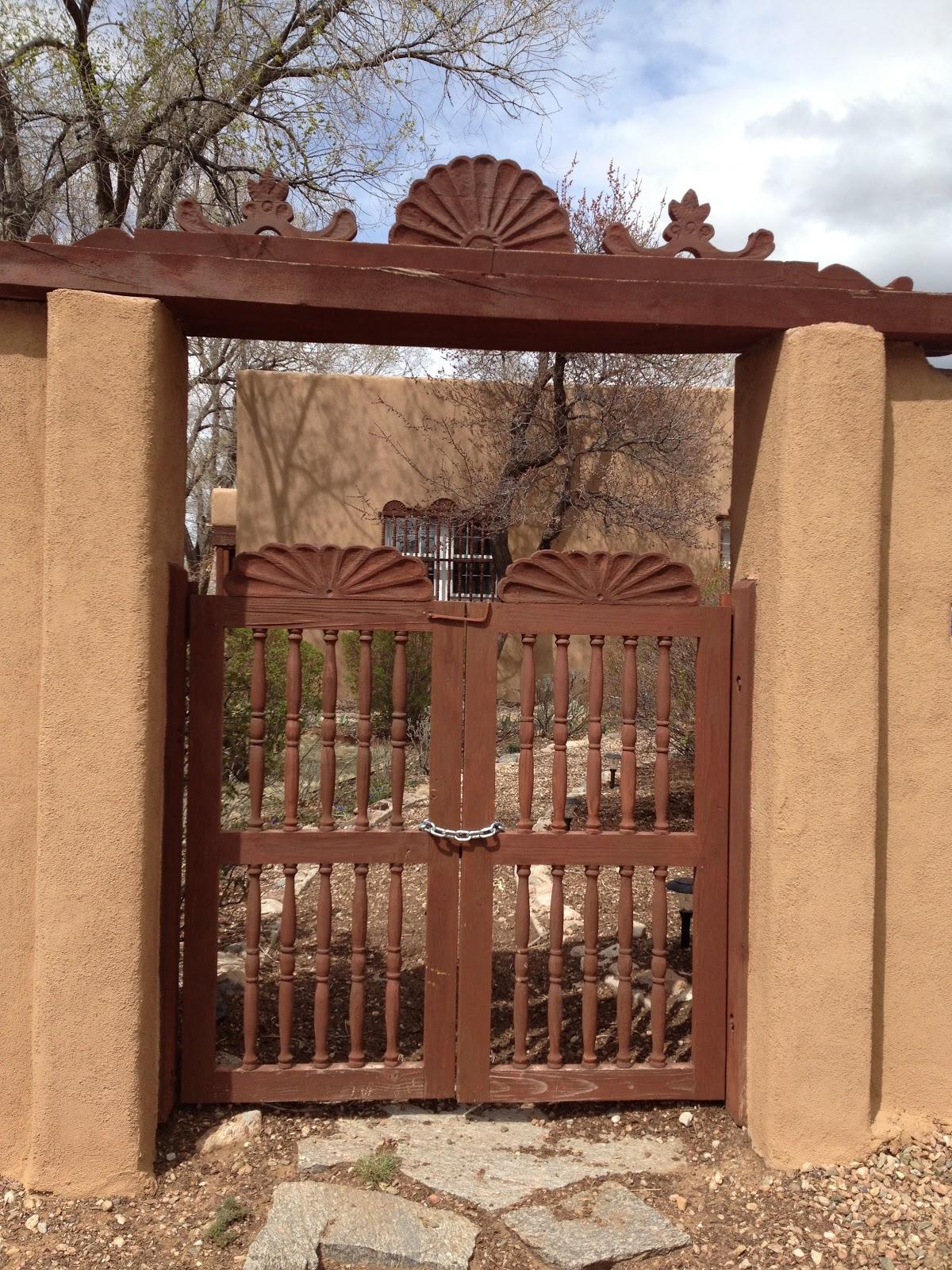 The Doily Duck Santa Fe Doors and Gates