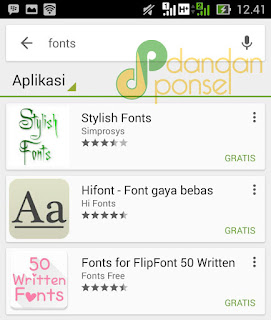 Cara Mengganti Model Huruf dan Warna Font pada Android