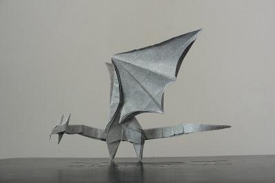 Origami Simple Dragon By Shuki Kato