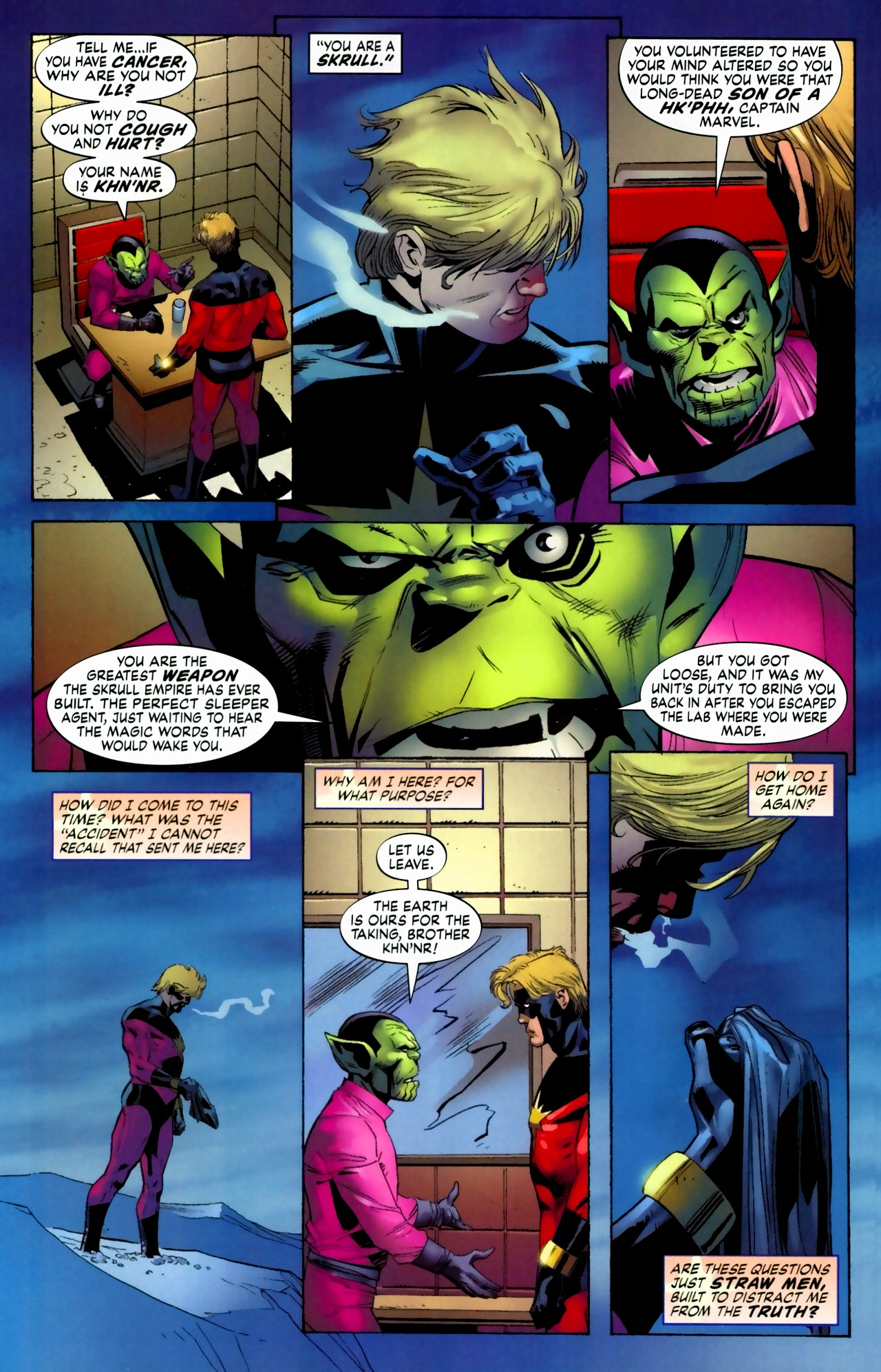 Read online Secret Invasion: The Infiltration comic -  Issue #5 - 7
