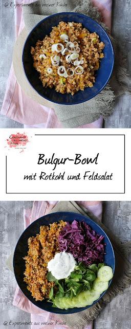 Bulgur-Bowl mit Rotkohl | Bulgursalat | Rezept | Essen | Kochen