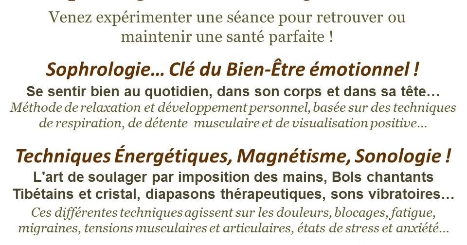 Nicole Drevet Sophrologie Techniques Energetiques Bien Etre Sante