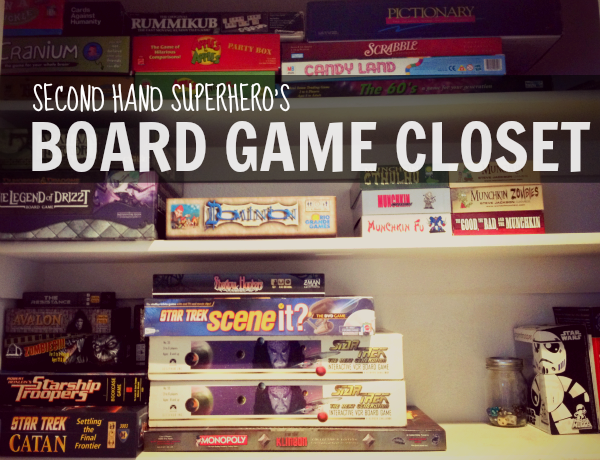 Secondhand Superhero: My Board Game Collection