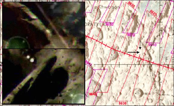 Imagenes captadas por el Apolo 17
