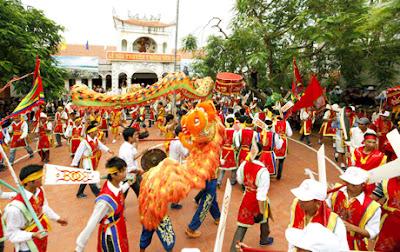 Cho thuê xe dự lễ hội Quan Lạn khu vực Hà Nội