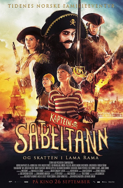 Captain Sabertooth and the Treasure of Lama Rama (2014) tainies online oipeirates