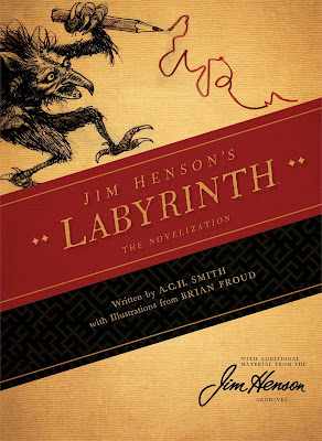 Labyrinth Novelization by A C H Smith, Labyrinth books