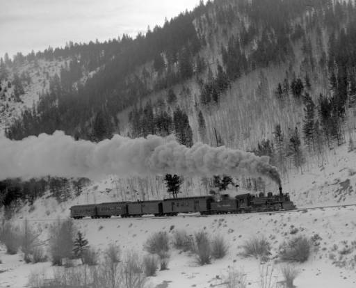 17 November 1940 worldwartwo.filminspector.com Colorado train snow