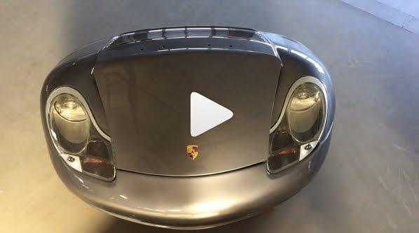 Porsche 996 Hoverboard, l'auto più piccola del mondo (modificata)