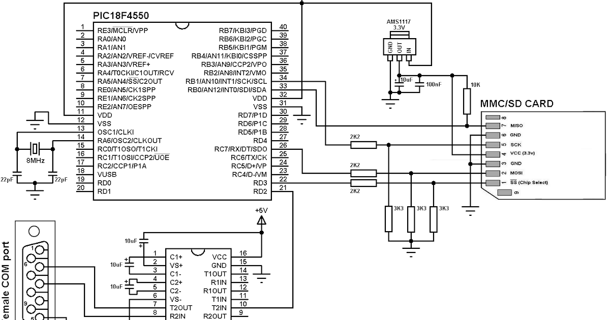 sd card byte  sector read and write with pic18f4550 microcontroller