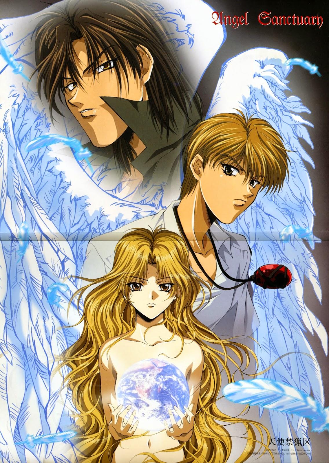 Moonlight Summoner S Anime Sekai Angel Sanctuary Ť©ä½¿ç¦çŒŸåŒº Tenshi Kinryōku
