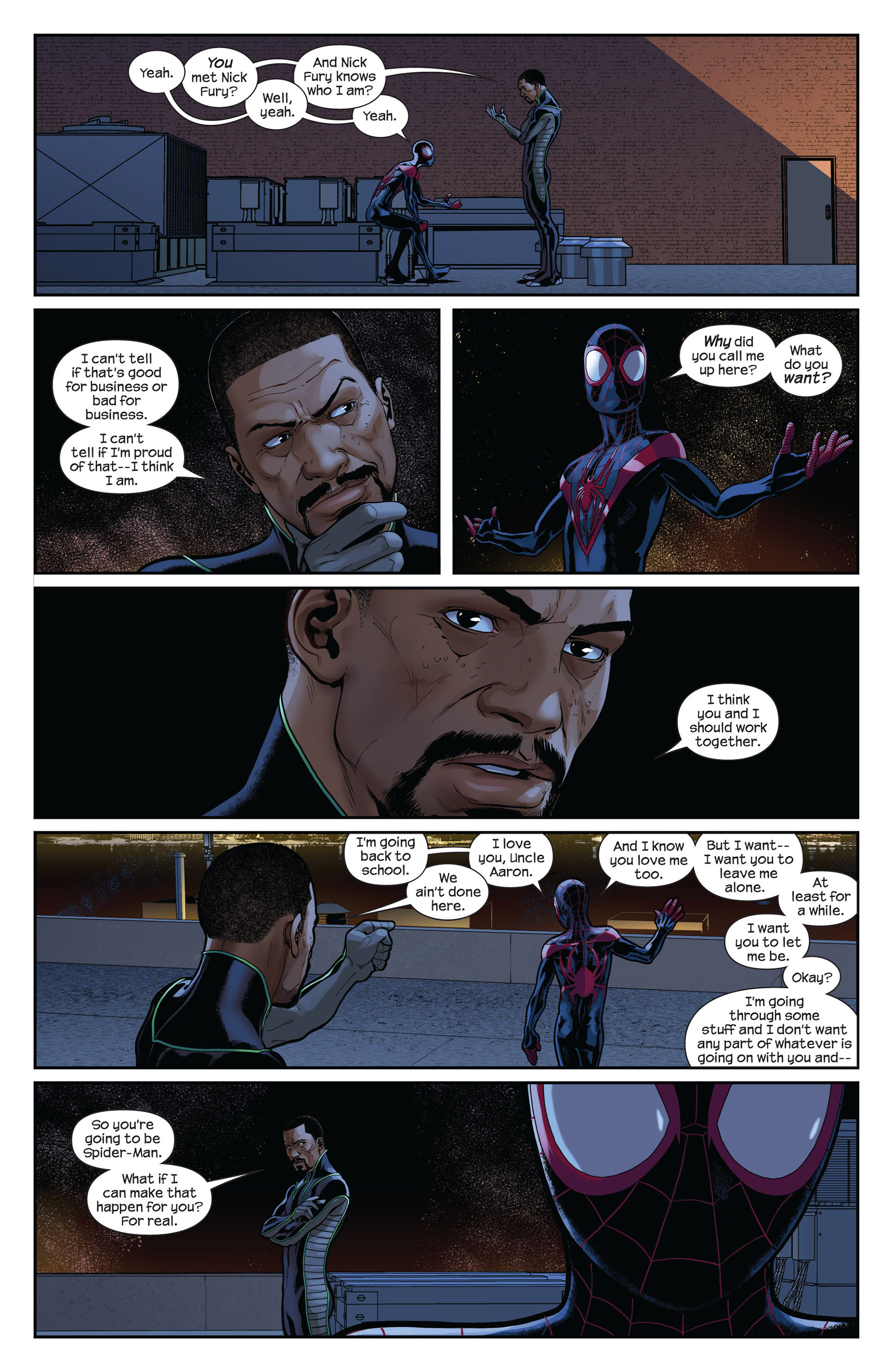 Read online Ultimate Comics Spider-Man (2011) comic -  Issue #10 - 11