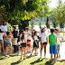 Alunos do Núcleo de handebol participam de atividades no Parque da Cidade