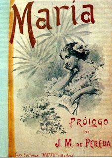 Portada de la novela María de Jorge Isaacs