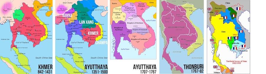 Cambodia - Thailand history