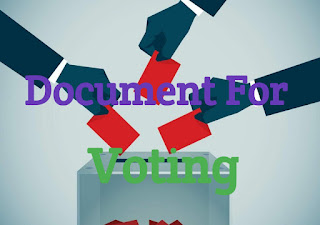 Need Document For Voting In Election
