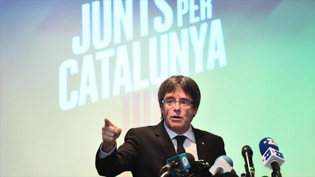 Puigdemont se descarta para ser investido presidente de Cataluña