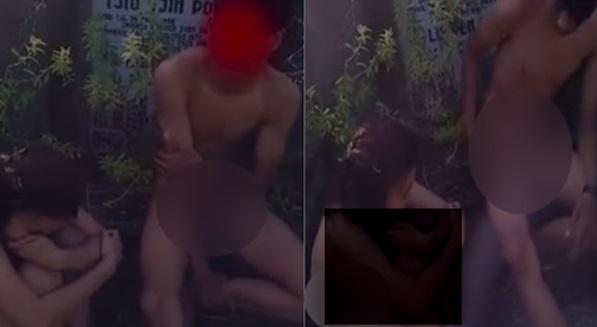 VIDEO: Pelajar Sekolah Kantoi Buat Maksiat Di Kubur Cina Jadi Viral... Orang Perempuan Tu Boleh Pula Slumber Dia ...