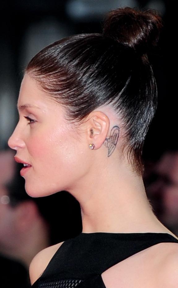 Tiny Tattoos Behind Ear: 1990Tattoos: Small Tattoos On Ear Behind