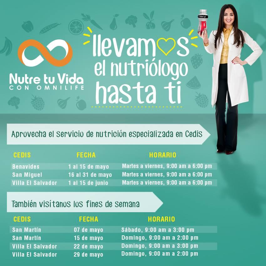 Nutriológos gratis Perú