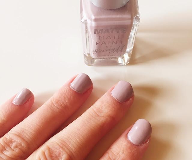 mink nail varnish barry m matte