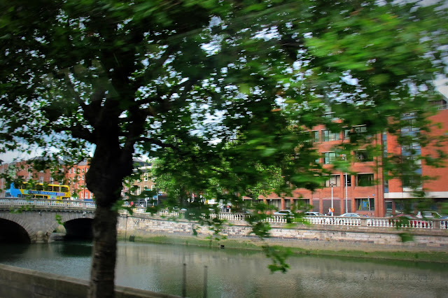 image from the bus, Dublin