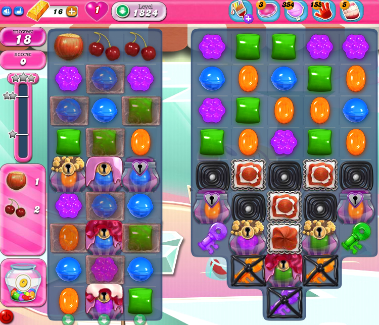 Candy Crush Saga 1824