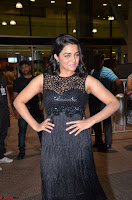 Wamiqa Gabbi in a sleeveless Black Designer Transparent Gown at 64th Jio Filmfare Awards South ~  Exclusive 073.JPG