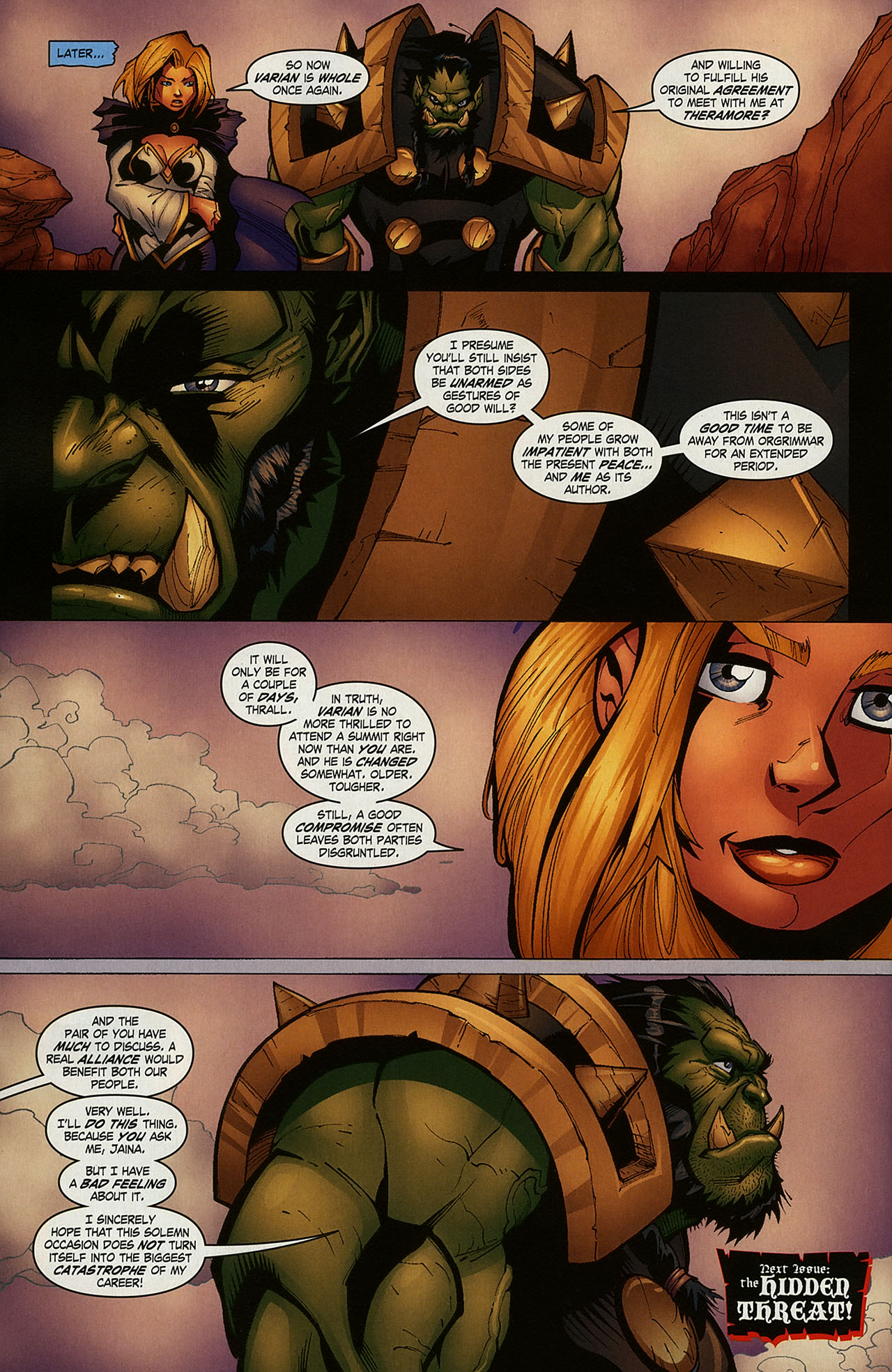 Read online World of Warcraft comic -  Issue #15 - 20