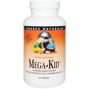 Source Naturals - Mega-Kid