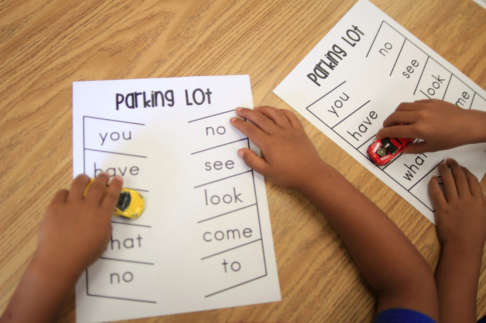 Mrs Ricca S Kindergarten Sight Words Amp Segmenting Freebies