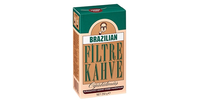 kurukahveci mehmet efendi brezilya filtre kahve fiyatı - KahveKafeNet