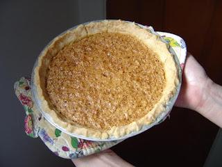 My Mock Pecan Pie frontview.jpeg