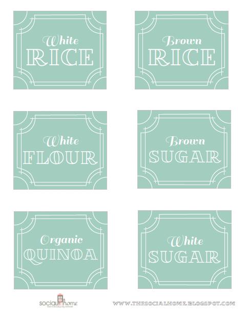 My Sweet Savannah: ~pantry Labels And A Winner~
