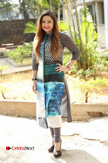 Actress Priyanka Stills in Salwar Kameez at Chinnari Trailer Launch  0077.JPG