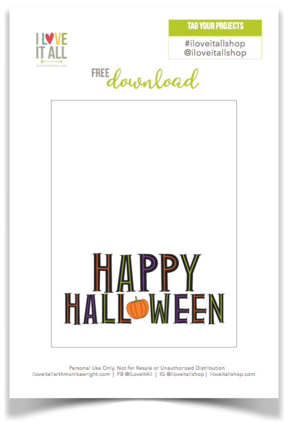 Happy Halloween | Free Pocket Page Download