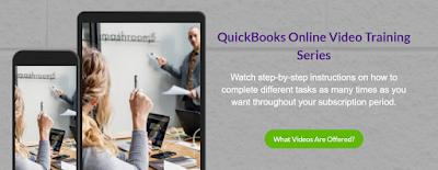 QuickBooks Online Tutorial Videos Bookkeeping | www.deductingtherightway.com