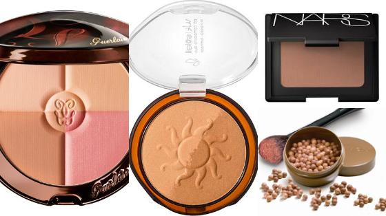 maquiagem de verao bronzers