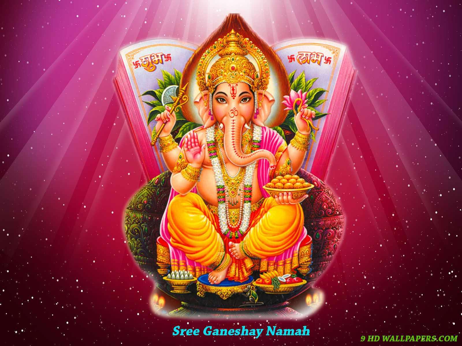 Ganesha: Hare Krishna: Shri Ganesh Wallpaper-5