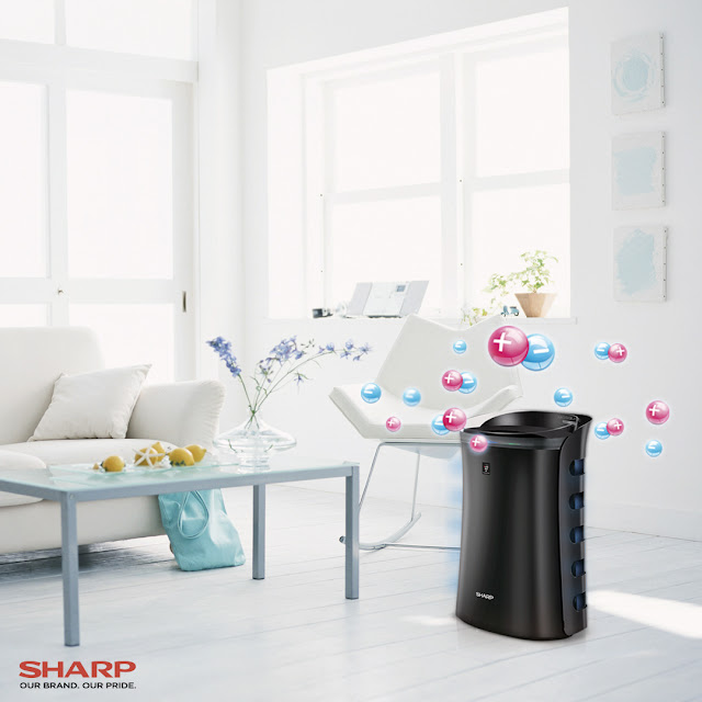 The Sharp Plasmacluster Air Purifier with Mosquito Catcher