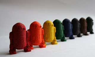 recycled r2d2 crayons