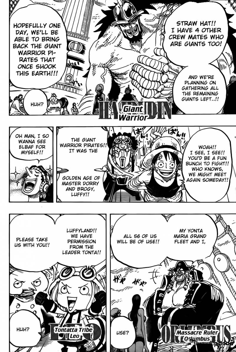 One Piece Ch 799: Parent & Child
