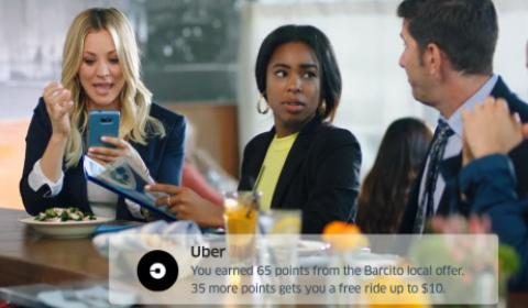 Local Offers Visa + Uber