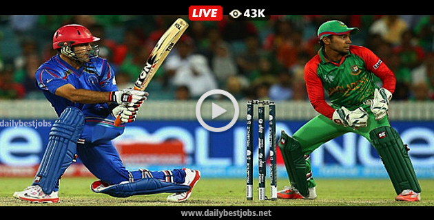 AFG Vs BAN Live Streaming Asia Cup 2018 Live Cricket Score